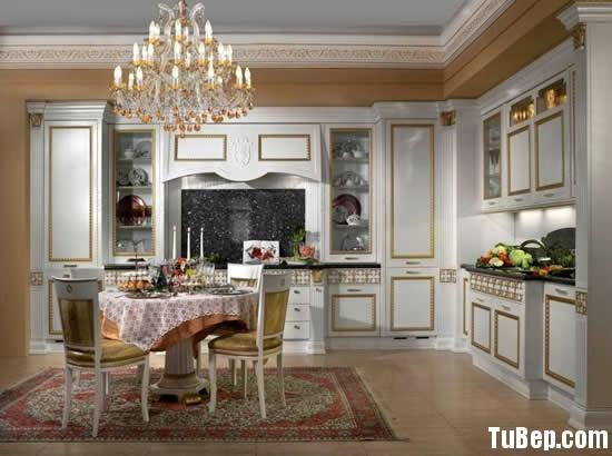 13142a4821ng gia.jpg Tủ bếp gỗ Sồi Mỹ sơn men màu trắng chữ L TVT0808
