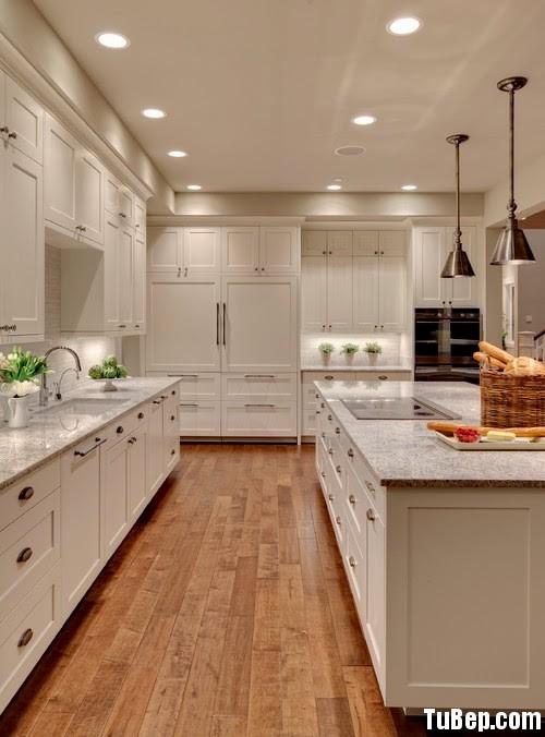 0c4fff6920226736.jpg Tủ bếp gỗ Xoan đào tự nhiên sơn men màu trắng có đảo TVT0803