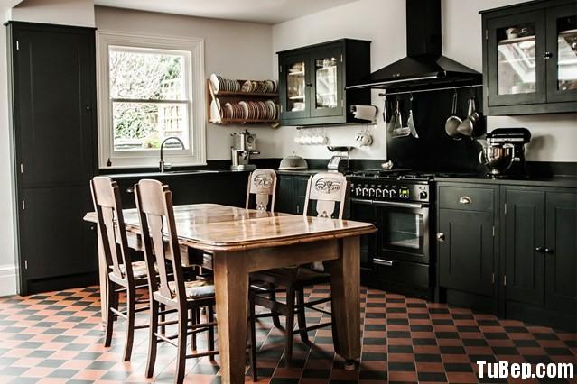 4a0fc2f15cất 3.jpg Tủ bếp gỗ Xoan Đào tự nhiên sơn men đen chữ L TVT0768
