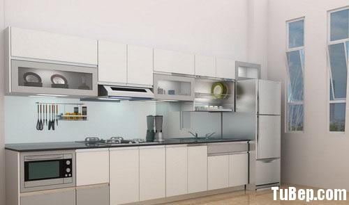 d21865e00879 b73.jpg Tủ bếp gỗ Laminate chữ I màu trắng xám TVT0755