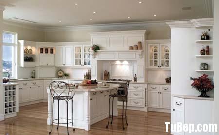 90d62e9821bep 1.jpg Tủ bếp gỗ Sồi sơn men trắng chữ L có bàn đảo TVT0816