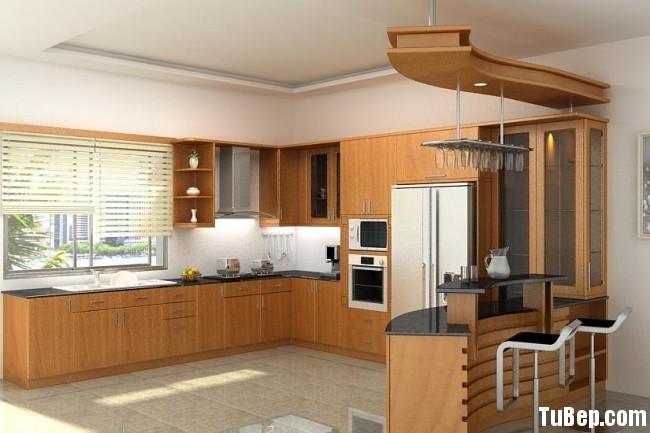 17f78ab063738c74.jpg Tủ bếp gỗ Xoan Đào chữ L có quầy bar TVT0726