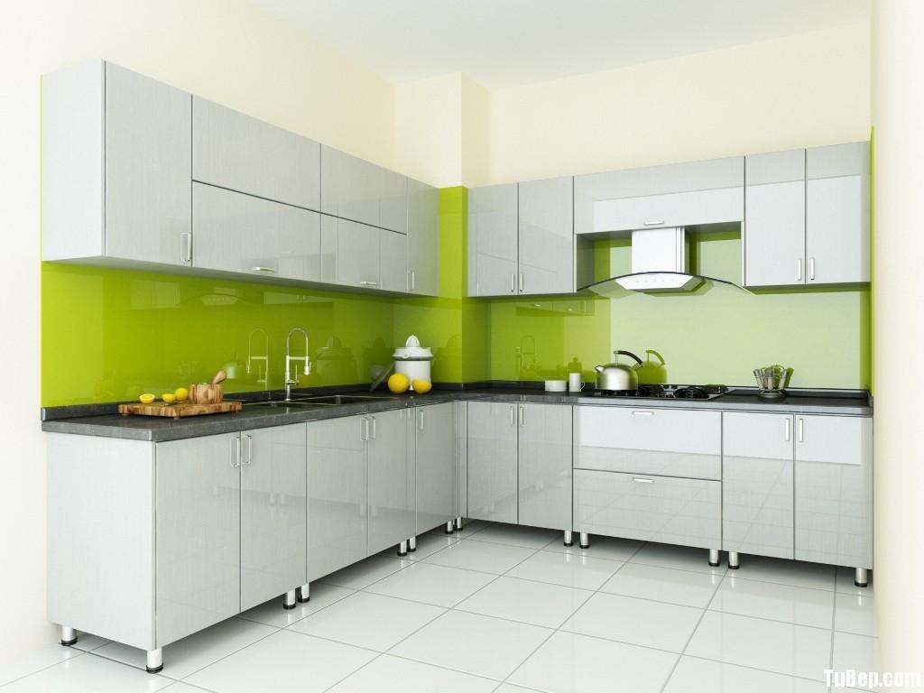 96815c5b57h ngoc.jpg Tủ bếp gỗ Acrylic màu trắng kem chữ L TVT0670