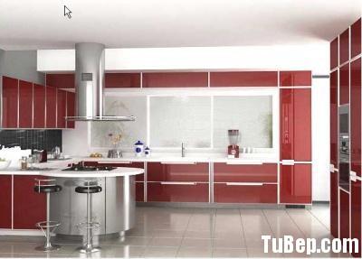2669c9e7c7hau au.jpg Tủ bếp Acrylic màu đỏ chữ L có bàn đảo TVT0746