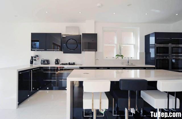 e4f21f001epg.jpg.jpg Tủ bếp gỗ Acrylic chữ L màu đen có đảo TVT0780