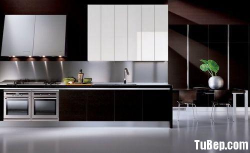 9b79b1d78c83 b92.jpg Tủ bếp gỗ Acrylic màu trắng phối nâu chữ I TVT0756
