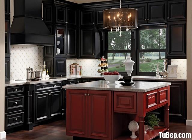 e6890e2420ien 21.jpg Tủ bếp gỗ Xoan đào chữ L sơn men màu đỏ đen TVT0648
