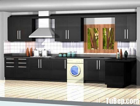 45b6fc896ab2.jpg Tủ bếp Acrylic màu đen chữ L TVT0641