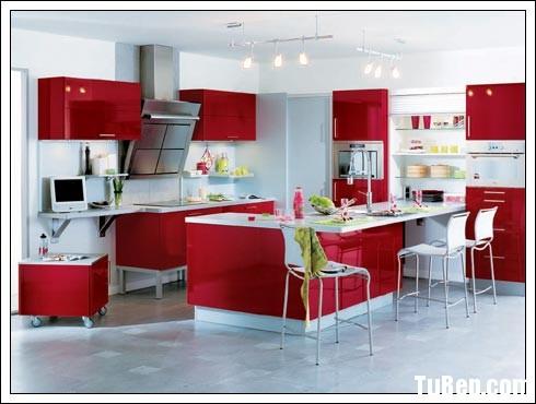 df0a08da9aow23B.jpg Tủ bếp gỗ Acrylic màu đỏ phối trắng TVT0872