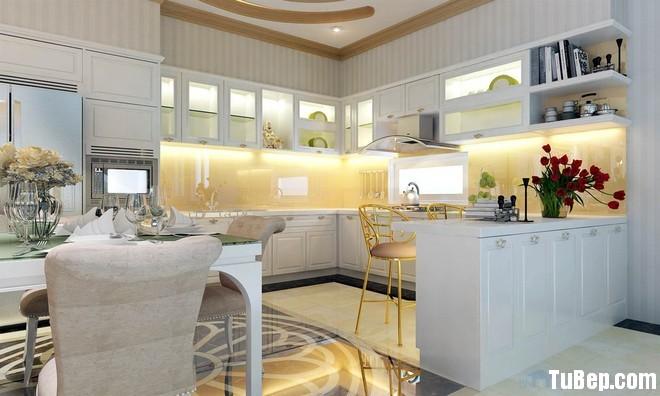 328afe2348636921.jpg Tủ bếp gỗ Sồi tự nhiên sơn men trắng chữ U – TVB0946