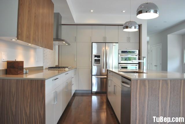 1801636d38211.jpg Tủ bếp Laminate màu trắng kết hợp vân gỗ chữ U TVT0437