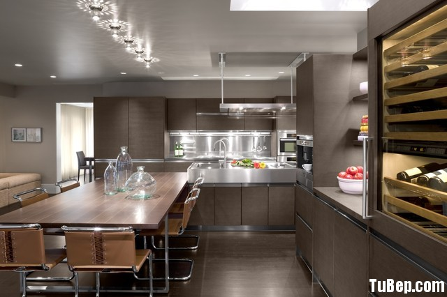5168b8a85454.jpg Tủ bếp Laminate màu vân gỗ chữ L TVT0910