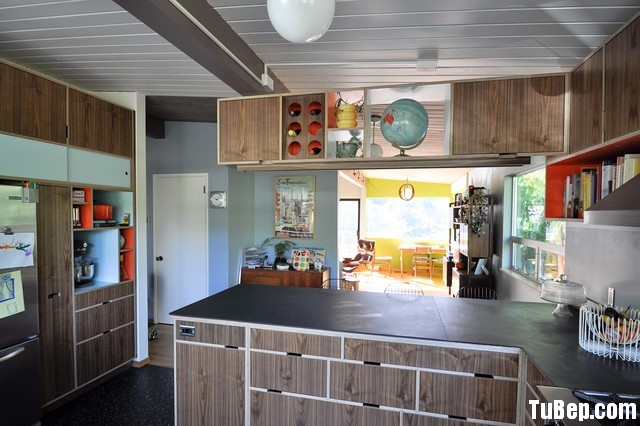 ac98d326322.jpg Tủ bếp gỗ Laminate chữ L màu vân gỗ – TVB0887