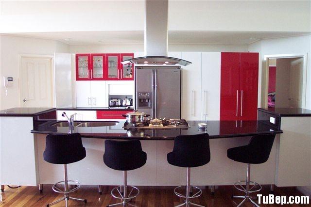 6a6276c62c Tủ bếp Acrylic có đảo – TVB0838