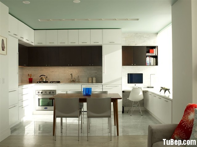 5c548e8de61071.jpg1 Tủ bếp gỗ Acrylic màu trắng bóng gương chữ L TVT0393