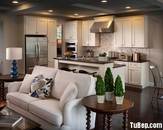 dc9cb7cb47GD.jpg Tủ bếp gỗ Dỗi tự nhiên sơn men trắng có đảo TVT0930
