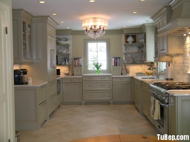 51f89d4cfe49.jpg Tủ bếp gỗ Sồi tự nhiên sơn men màu kem hình chữ U TVT0530