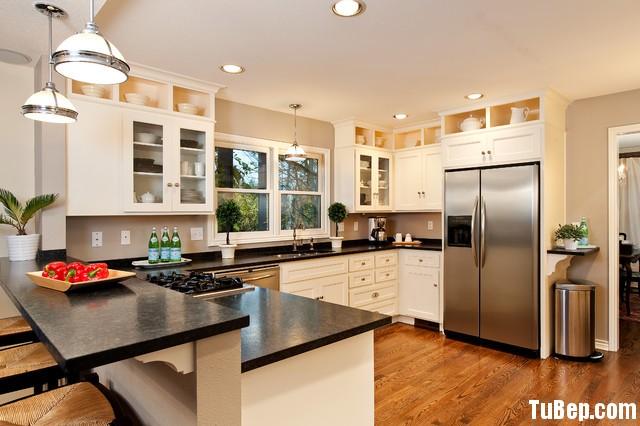 a475e9e4ad105.jpg Tủ bếp gỗ Sồi tự nhiên sơn men trắng hình chữ U TVT0524