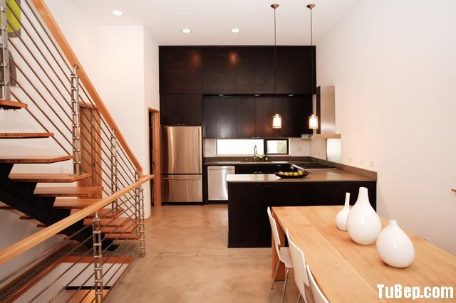 bbcb2ca08bbep 9.jpg Tủ bếp gỗ Melamin hình chữ U màu đen mờ TVT0614