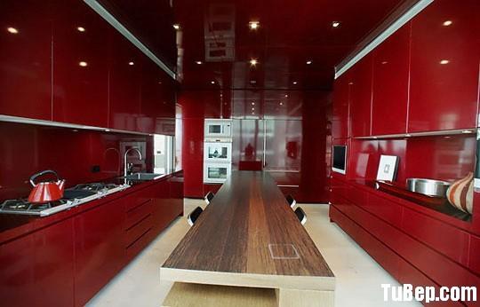20d7100550lic1 1.jpg Tủ bếp Acrylic màu đỏ, chữ I song song – TVB 1116