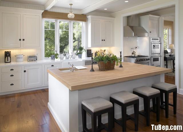 059cee9c7c198.jpg Tủ bếp gỗ Sồi tự nhiên sơn men trắng hình chữ I có đảo TVT0569
