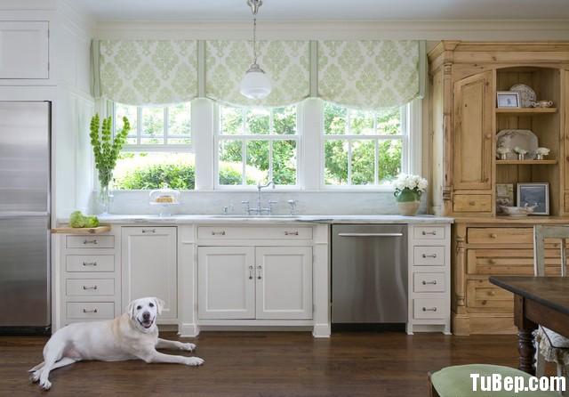 5a7475ae6585.jpg Tủ bếp gỗ Sồi hình chữ I màu trắng kết hợp vân gỗ TVT0565
