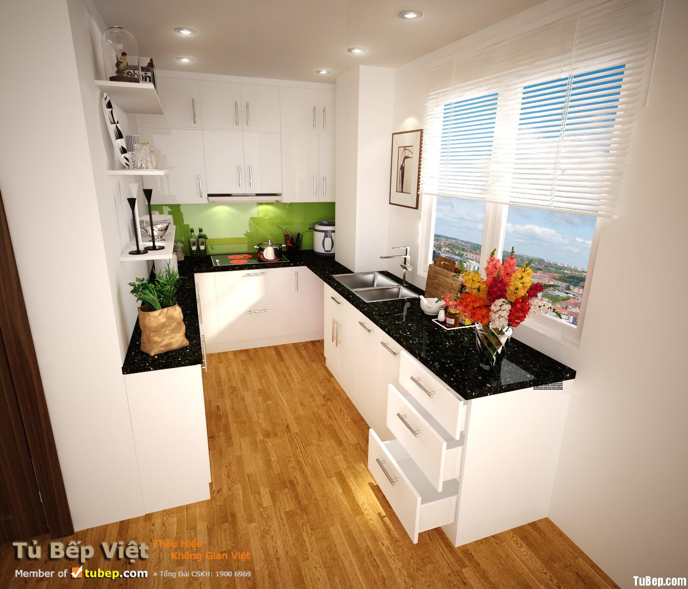 637966b514rang 1.jpg Tủ bếp gỗ Acrylic dạng chữ U – TVB1227