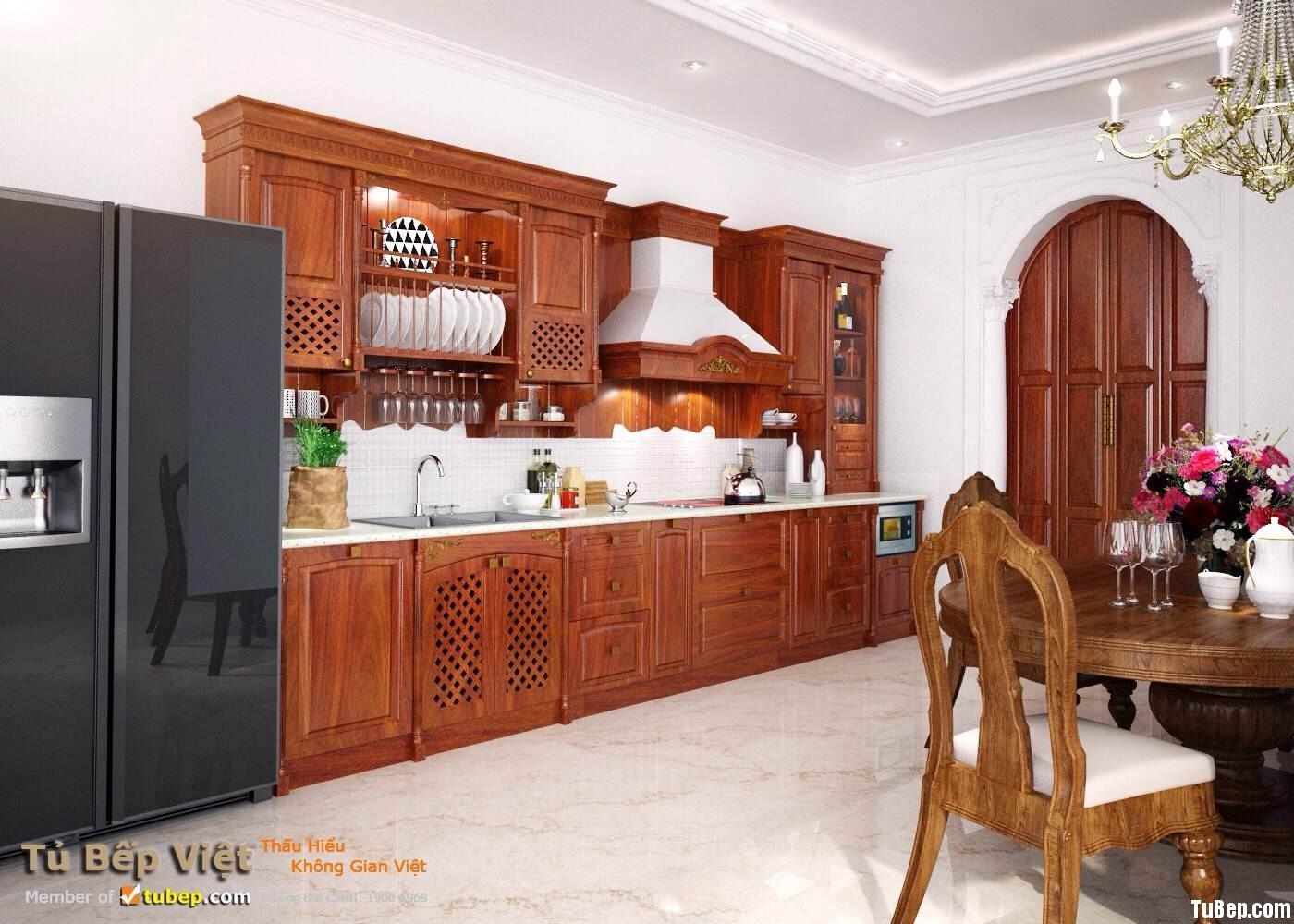 00f006f196photo2.jpg Tủ bếp gỗ tự nhiên – TVN1193