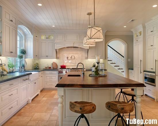c9337990f7dhgd.jpg Tủ bếp gỗ Sồi Mỹ sơn men trắng chữ L có bàn đảo TVT0464