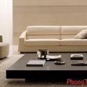 Bàn trà và ghế sofa phải được bố trí cân xứng