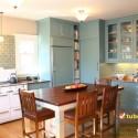 Tủ bếp gỗ tự nhiên – TVN990