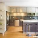 Tủ bếp gỗ công nghiệp – TVN1205