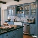 Tủ bếp gỗ tự nhiên – TVN1048