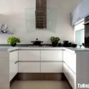 Tủ bếp gỗ công nghiệp – TVN1147