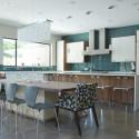 Tủ bếp MDF Laminate có đảo   TVB526