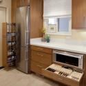 Tủ bếp gỗ công nghiệp – TVN543