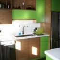 Tủ bếp gỗ công nghiệp – TVN1418
