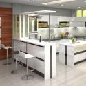 Tủ bếp gỗ công nghiệp – TVN787