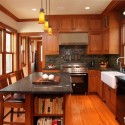 Tủ bếp gỗ Căm Xe   TVB379