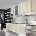 Tủ bếp gỗ Laminate   TVB706