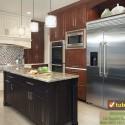 Tủ bếp gỗ tự nhiên – TVN1000