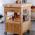 Tủ bếp di dộng tự nhiên – TVN1192