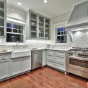 Tủ bếp gỗ tự nhiên – TVN606