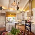 Tủ bếp gỗ tự nhiên – TVN1401