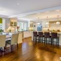 Tủ bếp gỗ Sồi Mỹ – TVB289