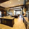 Tủ bếp gỗ tự nhiên – TVN906
