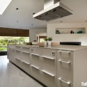 Tủ bếp gỗ công nghiệp – TVN1188