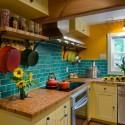 Nội thất Tủ Bếp   Tủ bếp gỗ tự nhiên – TVN386