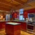 Tủ bếp gỗ công nghiệp – TVN1339