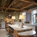 Tủ bếp gỗ tự nhiên – TVN538